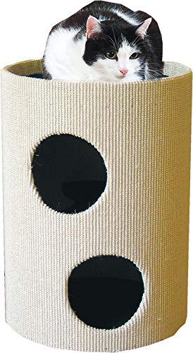 Produktabbildung von CLEVERCAT Cat Rondo II mit strapazierfähigem gummierten Sisalgewebe und DREI Ebenen zum Ausschau halten Made in Germany 532 (13)