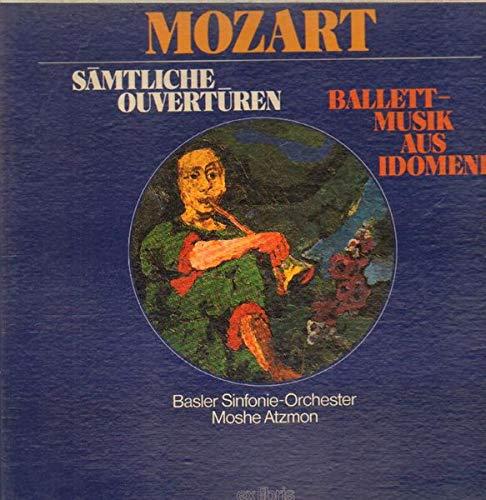 Sämtliche Ouvertüren / Balletmusik aus Idomeneo (Moshe Atzmon) [3xVinyl] [3x Vinyl LP]