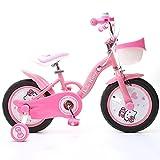 HUALQ Fahrrad Kinder Fahrrad 12/14/16 Zoll 2-6 Jahre Alt Mädchen Baby Baby Kind Baby Mädchen Fahrrad