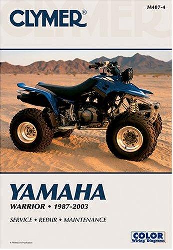 Yamaha Warrior, 1987-2003 (Atv) por Clymer Publications