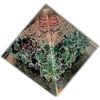 Heilung Kristalle Indien New Green Aventurin Chakra Energetische Pyramide, grün preisvergleich bei billige-tabletten.eu
