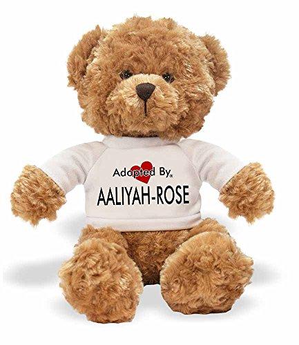 AdoptedBy TB1Aaliyah-Rose Teddy Bär Tragen Einen Wunschnamen T-Shirt