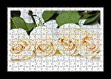 Puzzle Style (Preensamblado) Stampa della parete di Roses Flowers Number Buds Charm - Best Reviews Guide