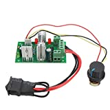 RISHIL WORLD 5pcs DC 6-30V 200W PWM Motor Speed Controller Regulator Reversible Control Forward/Reverse Switch