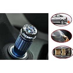 Denshine Limpiador, ionizador, oxigenador y purificador de aire, para el interior del coche, 12V