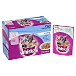 Whiskas Kitten Cat Food Fish Selection in Jelly, 12 x 100g 10