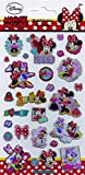 Disney Minnie Mouse Foiled Re-Usable Sticker Pack