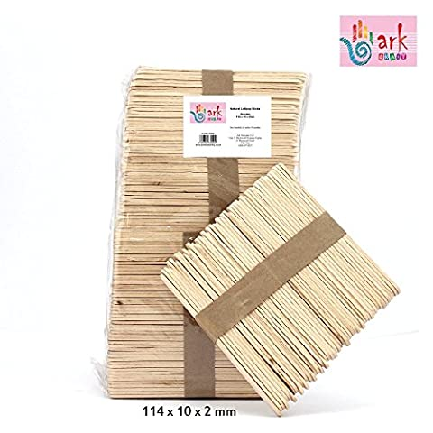 1000 Natural Wooden Lollipop Stick
