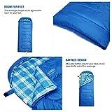 Mountaintop Schlafsack, ultraleicht mit kleinstem Packmaß Reiseschlafsack Sommerschlafsack leicht Deckenschlafsack -