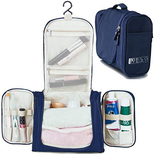 Kutikot Beauty Case Da Viaggio Borsetta Da Bagno/Viaggio Con Gancio Per Donna Uomo Impermeabile Borsa Da Toilette Pochette Trousse Cosmetici Rasatura