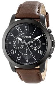 Reloj Fossil Grant Fs4885 Hombre Negro de Fossil