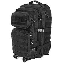 Mil-Tec Military Army Patrol MOLLE Assault Pack Tactical Combat Rucksack Backpack Bag 36L Black