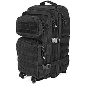 MilTec US Assault Rucksack 36 Liter Schwarz