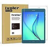 iVoler Verre Trempé Samsung Galaxy Tab A 9.7 Pouces (T550 / T555) [Garantie à Vie], Film Protection en Verre trempé écran Protecteur Vitre