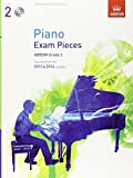 Piano Exam Pieces 2015 & 2016, Grade 2, with CD: Selected from the 2015 & 2016 syllabus (ABRSM Exam Pieces) by ABRSM(2014-07-03)