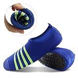 Thunder unisex zapatos de piel de agua Aqua calcetines zapatos descalzos para piscina de playa Deportes de agua, ejercicio de yoga, carrera al aire libre, Fitness