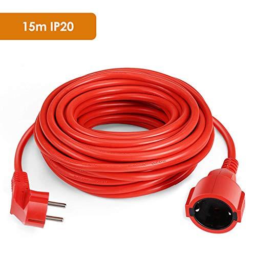 SIMBR Cable alargador de corriente IP20 H05VV Alargador cable de gran calidad...