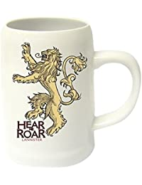"Chope Game of Thrones blanche - Logo Lannister ""Hear Me Roar"""