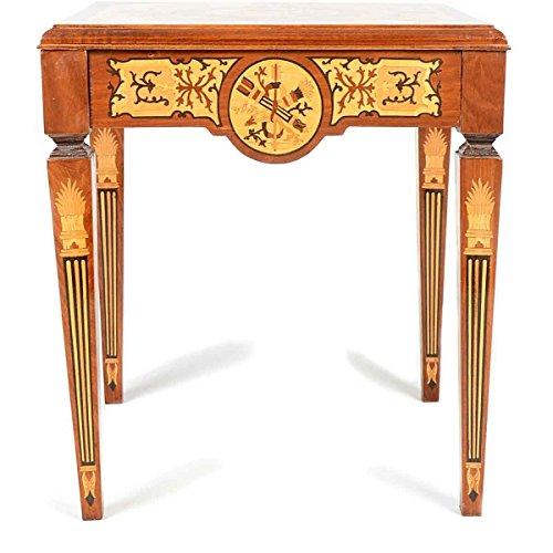 Table – Style Antique   baroque   Lauscha   Louis XV/XVI   classique   fabriqué à la main   bois massif