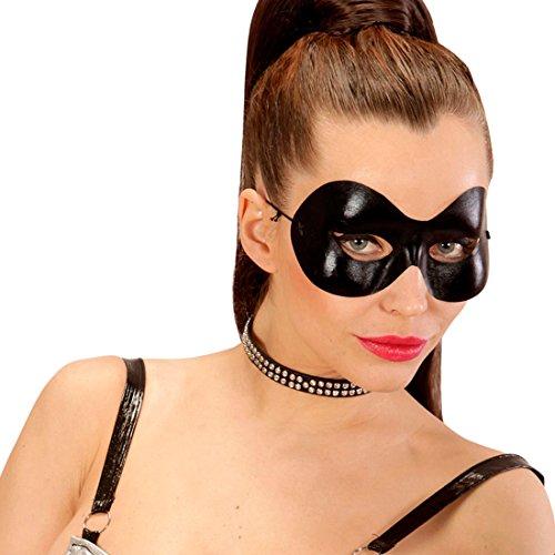 oman Maske Zorro Faschingsmaske Venezianische Maskerade Fetish Maske SM Superheld Karnevalsmaske Schwarze Augenmaske ()
