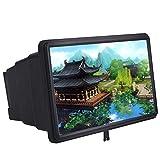 MAIFENGLE Handy 3D Bildschirm Vergrößerungsglas, 12 Zoll 2-4X Mal Vergrößerung des Effekts HD Handy Bildschirm Expan