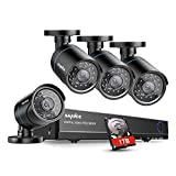 Best Diy Security Systems - SANNCE 4CH 720P CCTV DVR System w/ 4x Review