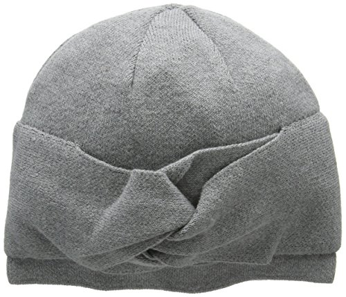 french-connection-womens-doreen-beanie-grey-charcoal-mel-black-one-size