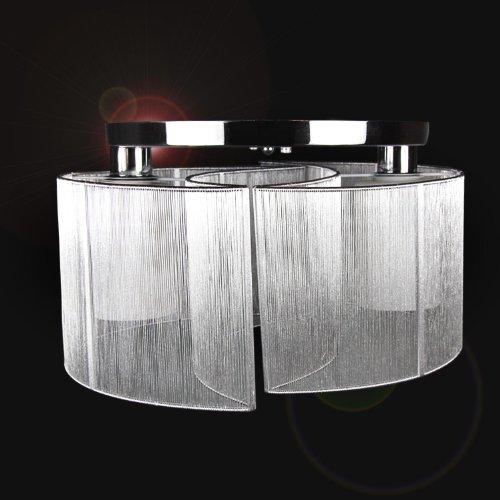 Kingzer moderno montaje empotrado lámpara de techo colgante lámpara de araña iluminación...