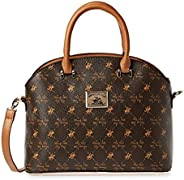 Beverly Hills Polo Club Bag For Women,Brown - Satchels Bags,Bhva2475Bn