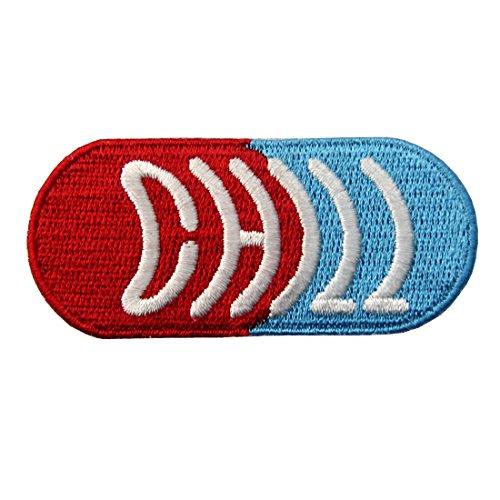 Kleid Medizinische (Chill Pill Embroidered Medizinische Abzeichen Eisen Auf Nähen Auf Flecken)
