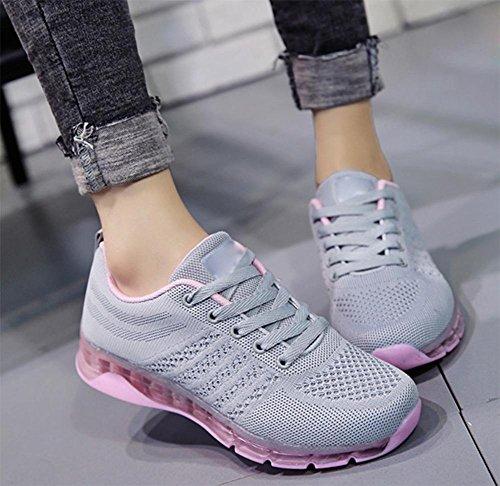 Frau von Crystal untere Schuhe Sportschuhe Freizeitschuhe Damen Schuhe laufende Schuhe der Frauen Herbst erhöht Grey