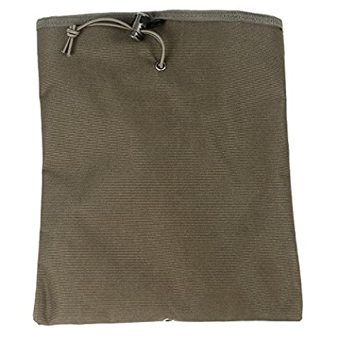 TRIXES Tactical Dump Pouch MOLLE Backpack Attachment Bag Olive Green