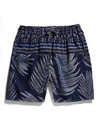XiaoGao_ les loisirs les shorts plage plage taille de pantalon imprimé.