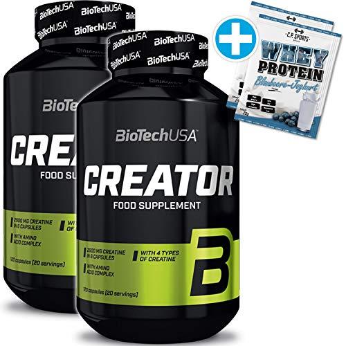 Biotech USA Tri Creatin Malat 300g + C.P.Sports 25g. Whey Protein