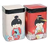 Teedosen Little Geisha 100g (2er Set)