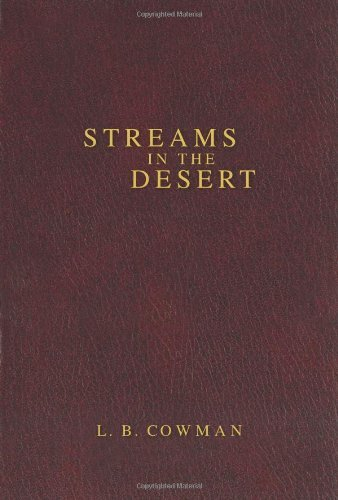 Streams in the Desert by L. B. Cowman (2006-10-10)