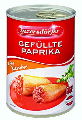 Inzersdorfer Gefüllte Paprika, 6er Pack (6 x 400 g)
