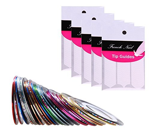 oeyfiea-nail-art-conseils-dcoration-sticker-set-5-packs-franais-chevron-teardrop-nail-tip-guides-aut