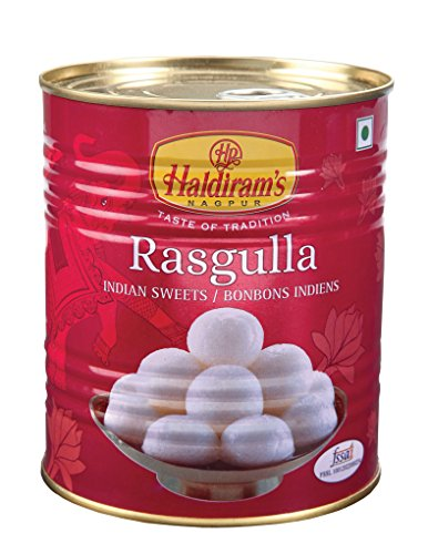 Haldiram's Rasgulla - 1kg (Pack of 1)