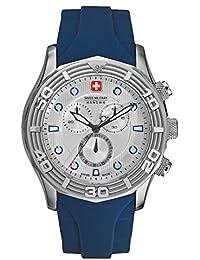 Swiss Military Hanowa Herren-Armbanduhr XL Analog Quarz Plastik 06-4196.04.001