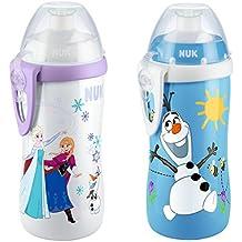 Nuk Junior Cup - Botella, diseño Frozen, 300 ml, para 36-72 meses
