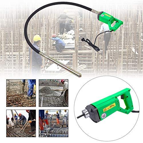 Preisvergleich Produktbild 2m Concrete Vibrator Durable Motor Vibrating Device Portable Vibrating Machine 230V Construction Tools EU Plug