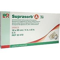 SUPRASORB A+Ag Antimik.Cal.Alginat Kompr.10x20 cm 5 St Kompressen preisvergleich bei billige-tabletten.eu