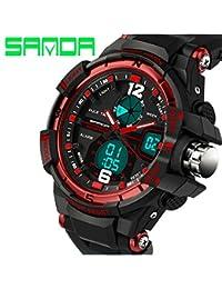 Aquaasian SANDA 289 Watch Men G Style Waterproof Sports Military Watches Hombre Men's Luxury Analog Digital Shock...