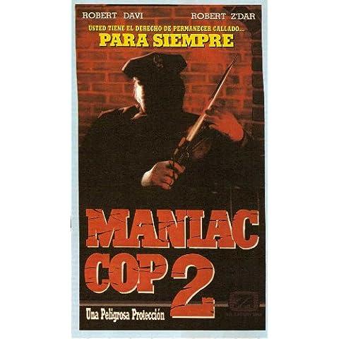 Cop Maniac 2 Poster film Argentine In 11 17 x 28 cm x 44 cm, motivo: Robert Davi Claudia Christian Michael Lerner Bruce Campbell Laurene Landon Robert