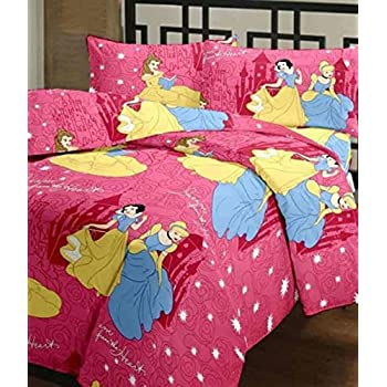 JaipurCrafts Barbie Dream Princess Reversible Cartoon Printed Ac Single Microfiber Blanket (54 X 84 Inches, Multicolor)