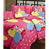 JaipurCrafts Polycotton 220 TC Reversible Blanket (Standard_Multicolour)