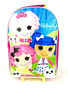 Lalaloopsy Girls Wheeled Bag Trolley Travel Holiday Hand Luggage Cabin Suitcase