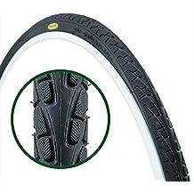 Fincci – Neumatico para Bicicleta Hibrida, de Carretera o Montaña 26 x 1 3/8 37-590