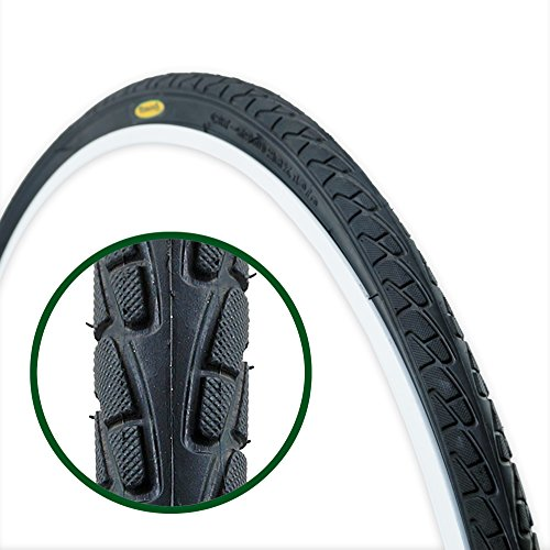 Hybrid Bike Road (Fincci Road Mountain Hybrid Bike Fahrrad Reifen 26 x 1 3/8 37-590)
